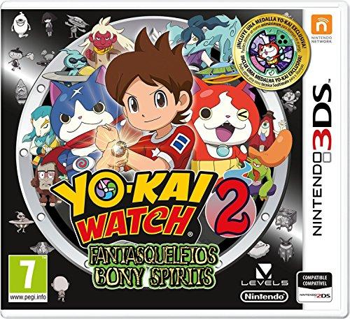 Yo-Kai Watch 2: Fantasqueletos + Medalla - Edición Especial Limitada