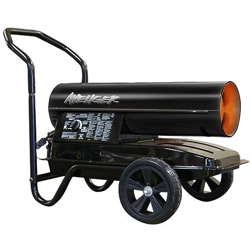 Avenger FBD175T Portable Kerosene Multi Fuel Heater, 175000 Btu
