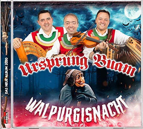 Ursprung Buam - Walpurgisnacht - Musik CD & Autogrammkarte