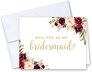 cheap will you be my bridesmaid cards