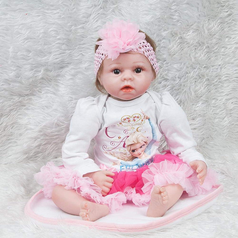 disfruta ahorrando 30-50% de descuento Hongge Hongge Hongge Reborn Baby Doll,Regalo de cumpleaños de la Muchacha del Muchacho del bebé de la muñeca del Renacimiento del silicón del bebé Realista los 55cm  100% a estrenar con calidad original.
