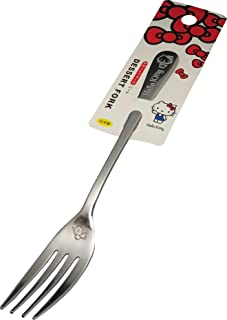 Sanrio Hello Kitty Stainless Dessert Fork 18.6cm (L) Flatware Dessert Forks Kitchen Japan (Bird)