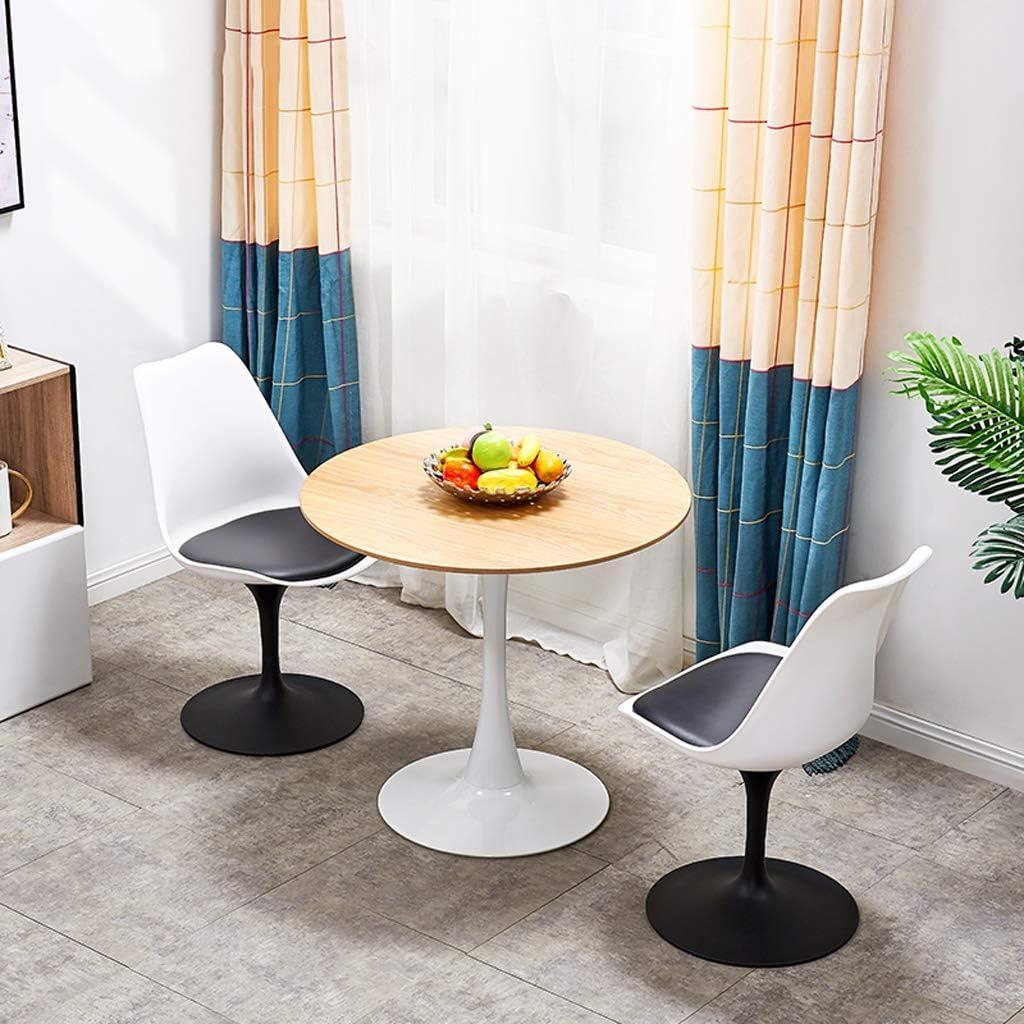 HXF- Chaise de salle à manger, chaise de bureau simple, dossier créatif, chaise de loisirs, chaise de salle à manger pour adulte durable (couleur : blanc-B) Blanc-b