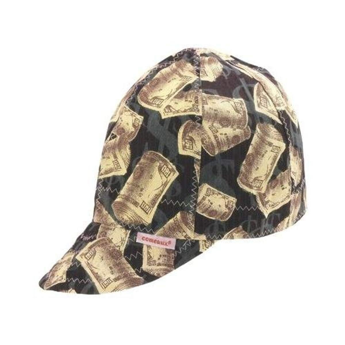 Comeaux Caps 118-1000-6-7/8 Deep Round Crown Caps, 6 7/8