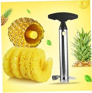 CULER Acero Inoxidable piña Cortador de Peeler Slicer Corer Peel Core Tools Herramientas de Frutas Vegetales removedor Cuchillas utensilio de Cocina Color al Azar