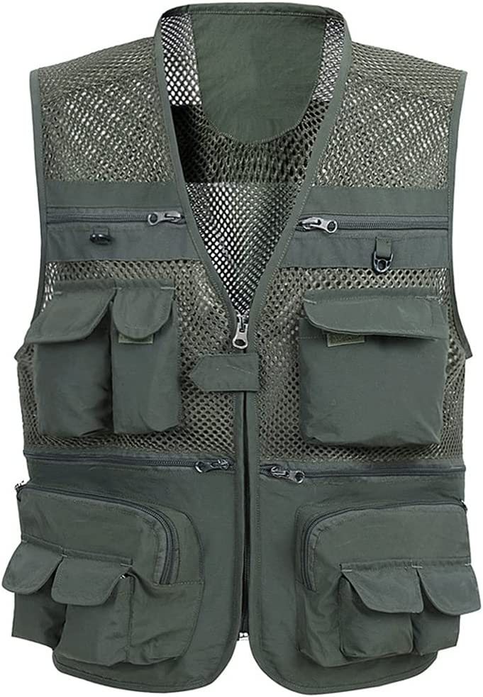 Men's Vest Spring Same day shipping and Summer Mesh Multi- Section Thin List price Breathable