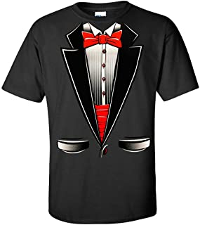 Brand- Tuxedo with Bowtie T-Shirt Funny Shirts