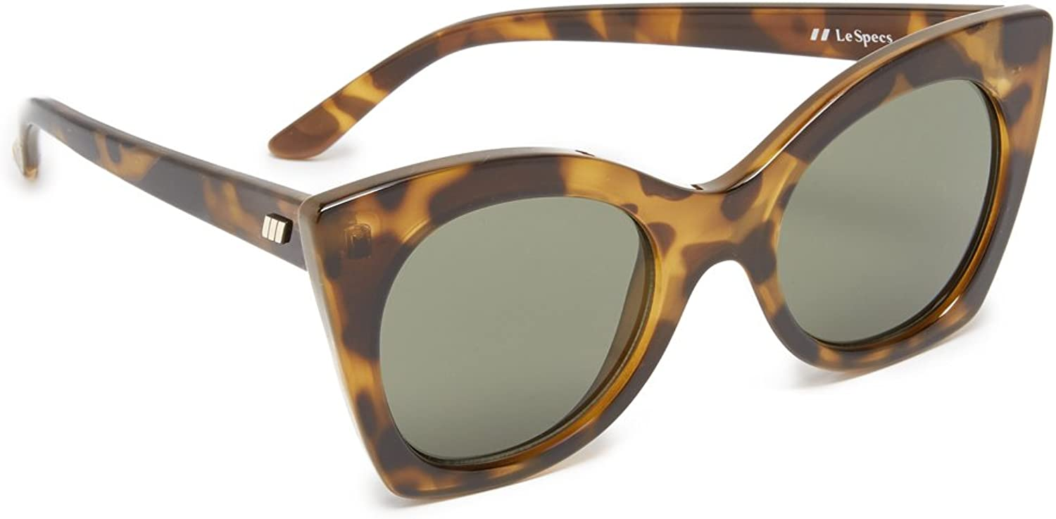 Le Specs Savanna Oversized Sunglasses Tortoise One Size