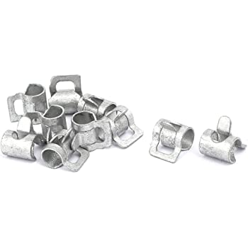 150PC Fuel Line Hose Spring wire Clips Water Pipe Hose Clamps  Stainless Steel