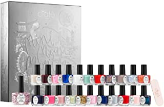 Ciate London Mini Mani Month Advent Calendar Nail Kit! Includes 22 Mini Paint Pots and One Full-Size Paint Pot! Long-Lasting Wear and Ultra Shine Gel Nail Polish! Rich Pigmented Gel-Wear Nail Color!