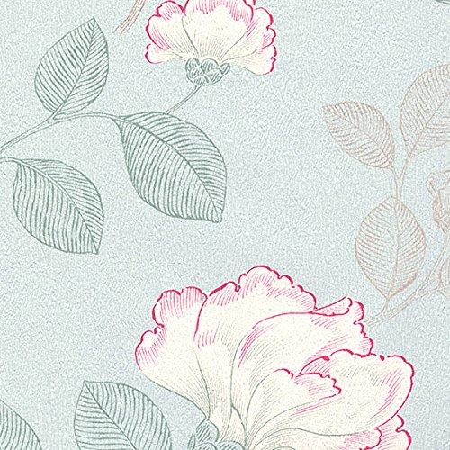 生のり付き壁紙 クラシック花柄セレクション/シンコール BESTベスト (販売単位1m) BB9784