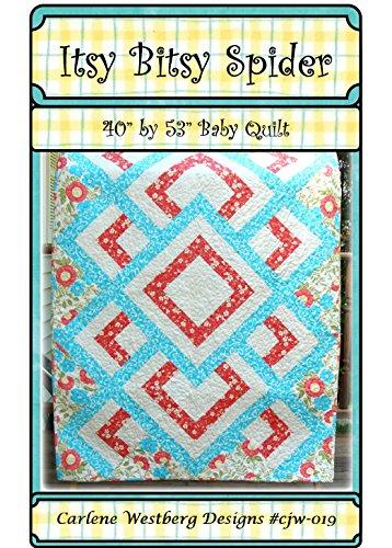 Itsy Bitsy Spider Baby Quilt Pattern cjw-019 Carlene Westberg Designs