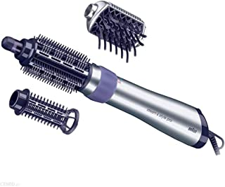 Braun Satin Hair 5 AS530 - Cepillo de pelo moldeador que seca, peina y refresca con el poder del vapor, rizador de pelo, color negro