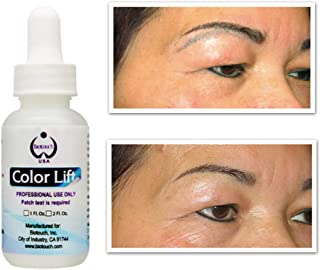 BioTouch Color Lift Permanent Makeup Supplies Microblading Supplies Lighten Remove Unwanted Pigment Color Cosmetic Tattoo ...