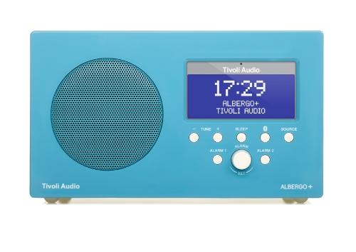 Tivoli Albergo+ Bluetooth DAB+/UKW Radiowecker in Glänzendes Blau