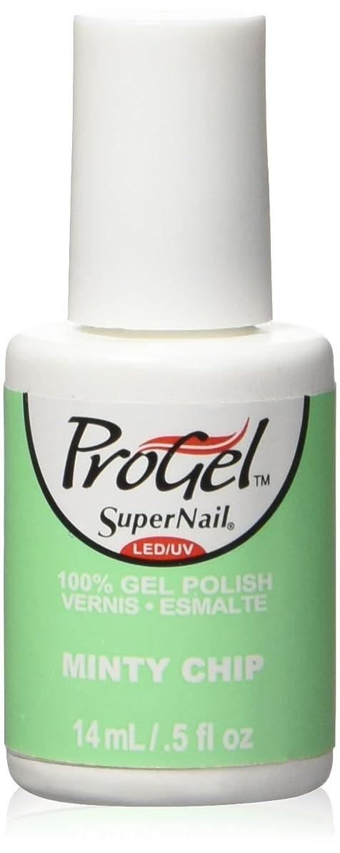 スチュアート島信仰エネルギーSuperNail ProGel Gel Polish - Minty Chip - 0.5oz / 14ml