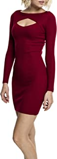 Urban Classics Ladies Cut out Dress Vestido para Mujer