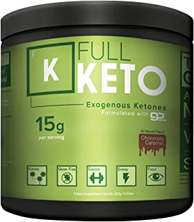 Exogenous Ketones Supplement Full Keto   (15g Per Serving = 15 Minutes to Ketosis)   Chef Formulated Chocolate Flavor Beats Every Taste Test