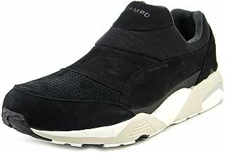 Puma Trinomic SOCK X Stamp'd Men Round Toe Leather Black Sneakers