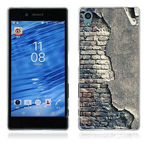 FUBAODA für Sony Xperia Z5 Hülle, Künstlerische - Serie TPU Case Schutzhülle Silikon Case für Sony Xperia Z5 (E6003 E6633 E6653 E6683)