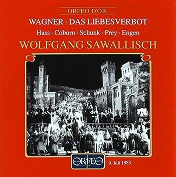 Wagner: Das Liebesverbot, WWV 38 (Bayerische Staatsoper Live)