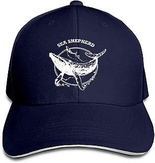 Sea Shepherd Whale Adjustable Sandwich Cap Baseball Cap Casquette Hat