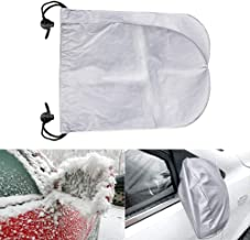 CIIHON Car Side Mirror Cover, Snow Ice Mirror Covers Universal Size Fits Cars SUV Truck Van Frost Guard Mirror Protective Cover (Universal Size, Thin)