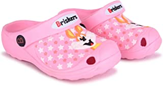 BRISKERS Clogs for Kids Boys and Girls 21011 Pink