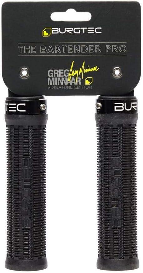 Burgtec Bartender Pro Greg Minnaar Signature Grips-Race Rouge