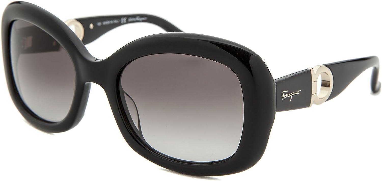 Salvatore Ferragamo Sunglasses SF728S 001 Black 53 21 135