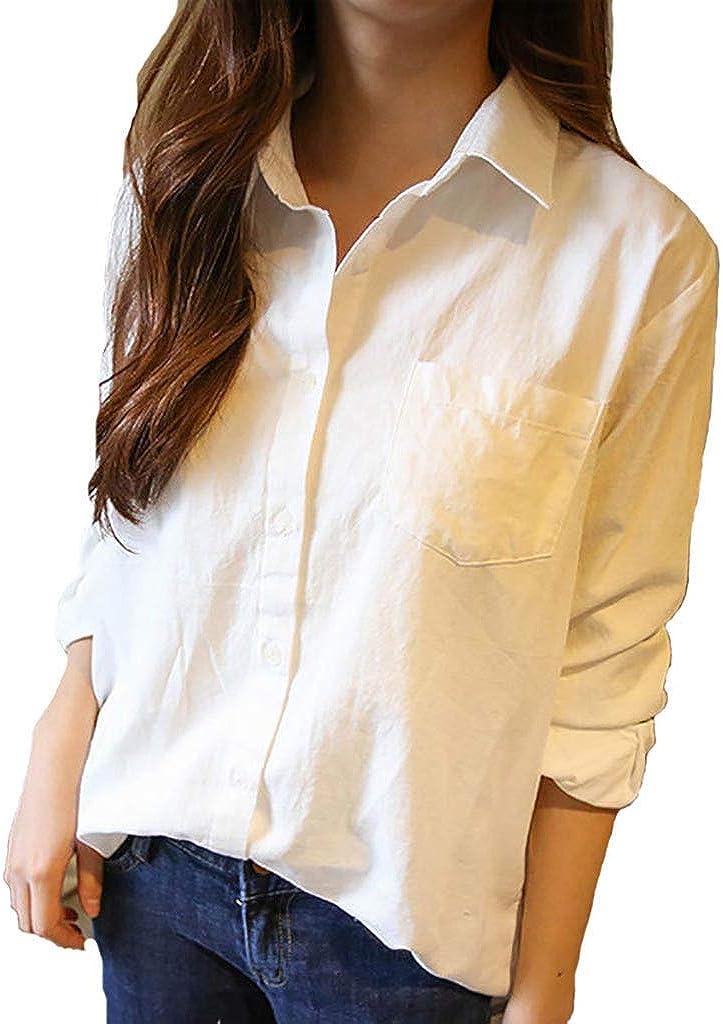 Theshy Camisa De Mangas Largas Sueltas Coreanas Color ...