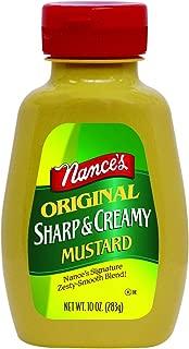 Nance's Mustard Sharp & Creamy, 10 oz, 3 pk