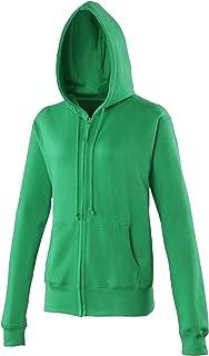 Awdis Girlie Womens/Ladies Hooded Sweatshirt/Hoodie/Zoodie