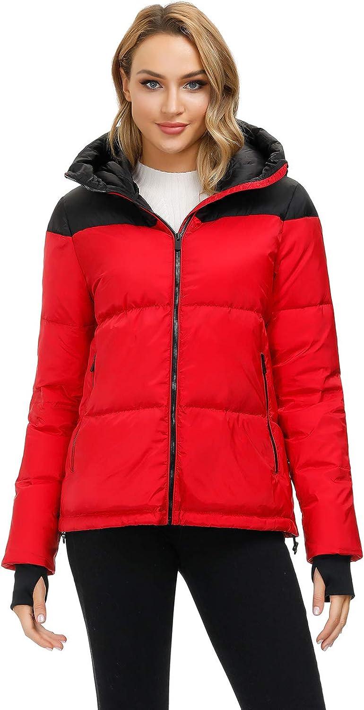 Quality inspection Royal Matrix Women's Lightweight Warm Hooded New Orleans Mall Jacke Winter Puffer