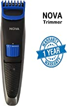 Bamchak NS-2019 Rechargeable Cordless Trimmer for Men 19 Speed Adjustment & Trim Length 0.4-8.5 mm Shaving Machine (Black)
