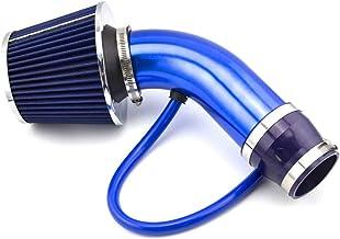 Universal Filtro de admisión de aire frío Tubo de Inducción Alumimum Azul