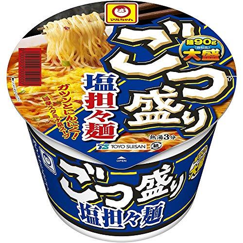 【リニューアル】マルちゃん ごつ盛り 塩担々麺 112g ×12個