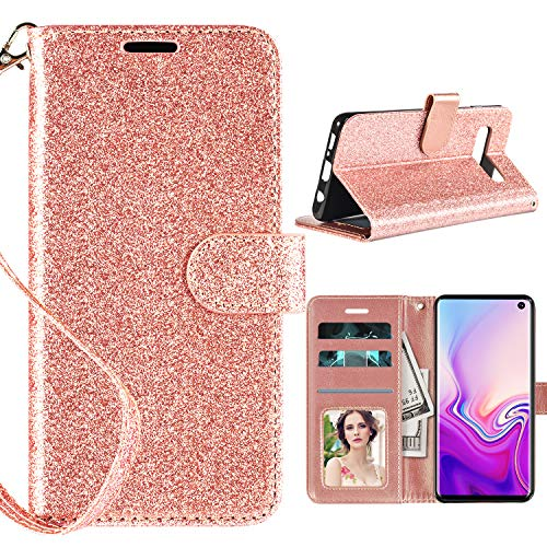 galaxy s10 leather wallet case