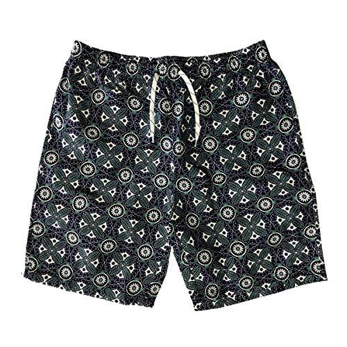nothing Pantalones de playa, vacaciones en la playa de los hombres grandes calzoncillos casuales pantalones grandes pantalones deportivos ropa de playa corredores pantalones cortos