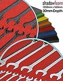 Shadow Foam - Rojo - Organizador para la caja de...