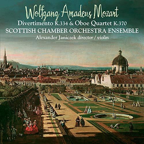 Mozart: Divertimento K.334 & Oboe Quartet K.370