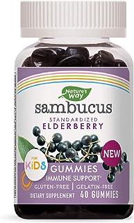 Nature's Way Sambucus Gummies for Kids, 40 Gummies