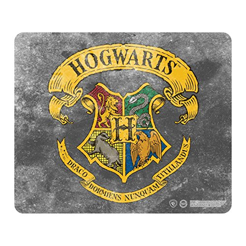 Harry Potter Tappetino Mouse Pad Hogwarts House Crest Nuovo Ufficiale