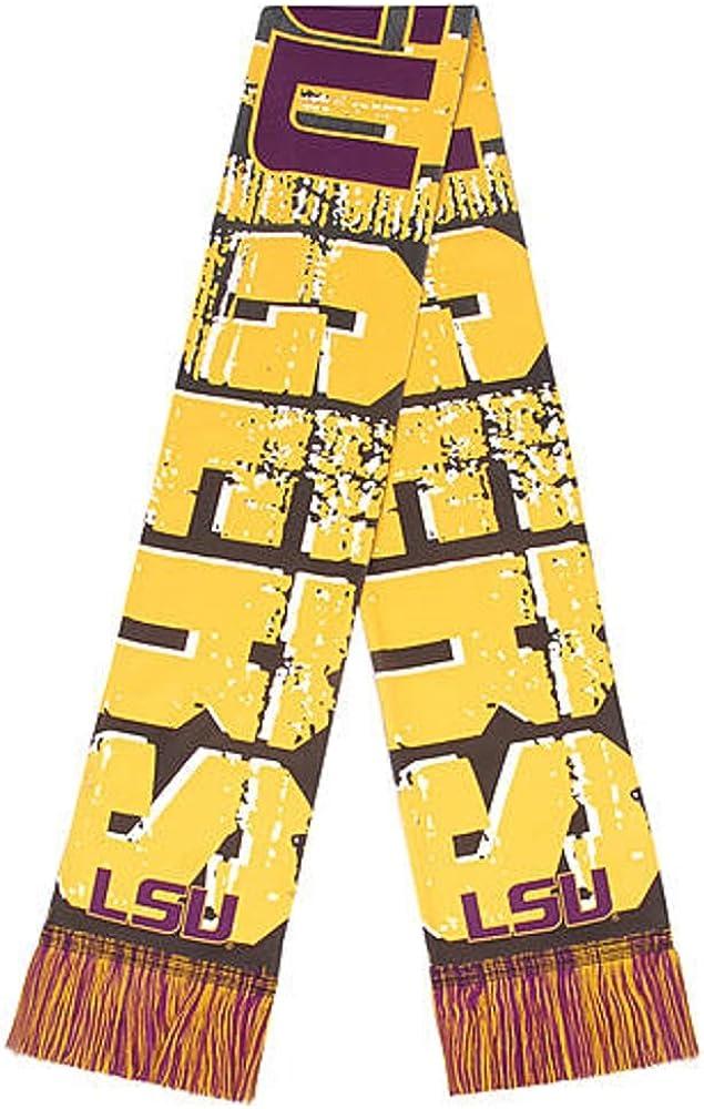 Mens Big Logo Scarf -LSU