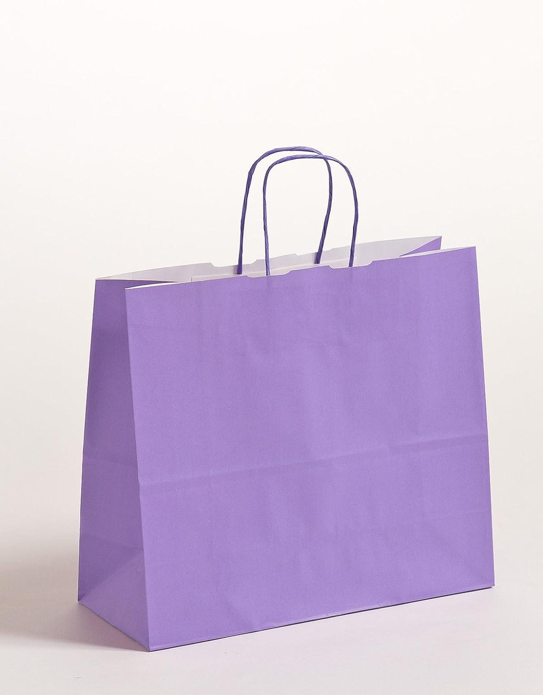 Geschenktasche Papiertragetaschen lilat Lila 32 x 13 x x x 28 cm VE 250 Stück B0749KQPKX | Ideales Geschenk für alle Gelegenheiten  78d167