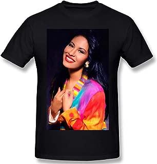 New Selena Purple Vintage Retro Mens T-Shirt