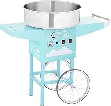 Royal Catering Machine À Barbe À Papa Set RCZK-1200-BG (1200 W, Cuve De 52 Cm, Sur Chariot, Protections Électriques, Acier...
