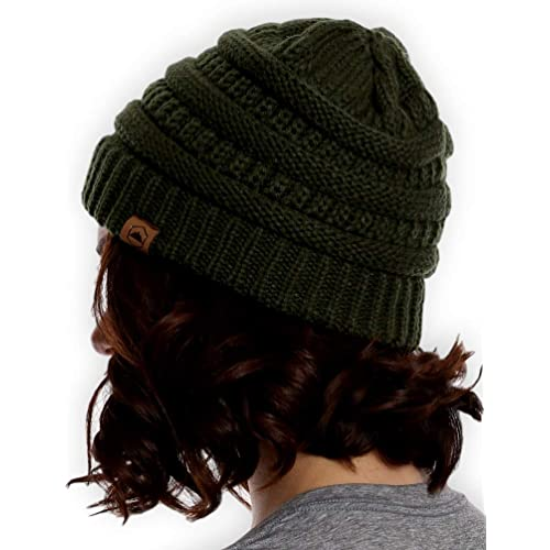 dd9f43f0f38 Tough Headwear Cable Knit Beanie - Thick