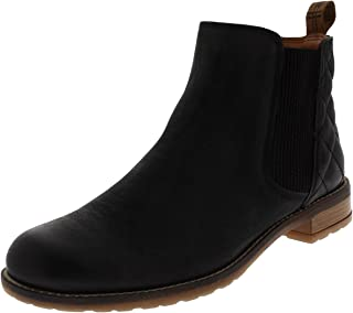 Womens Barbour Abigail Casual Leather Smart Winter Ankle Heeled Boots