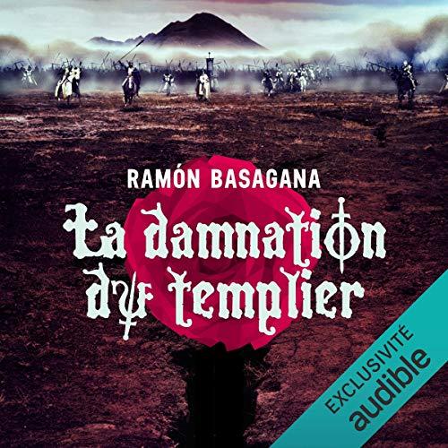 La damnation du templier audiobook cover art